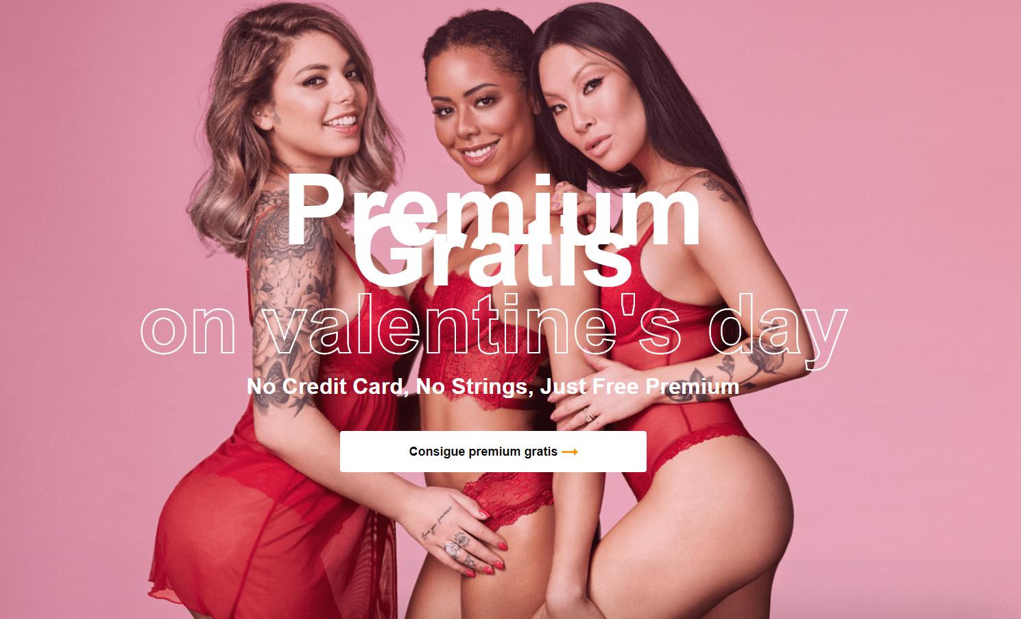 Pornhub Premium es GRATIS este viernes 14 de Febrero por San Valentín